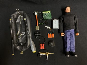 ACTION MAN - SABOTAGE DRESSED FIGURE